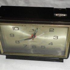 Vintage: RELOJ DESPERTADOR VINTAGE AÑOS 60 SILICON CLOCK TOKYO JAPAN. Lote 127227987