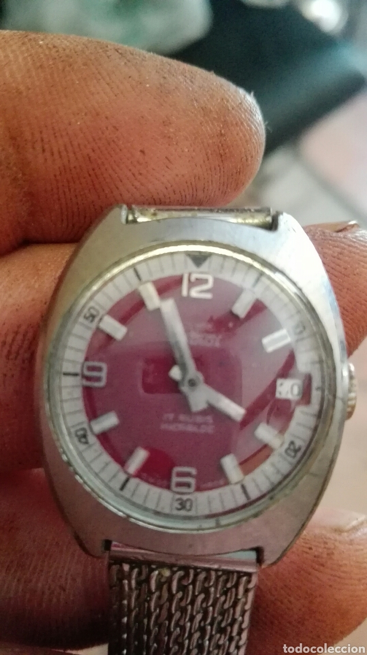 VANROY SUISS MADE SIN COMPROBAR (Relojes - Relojes Vintage )