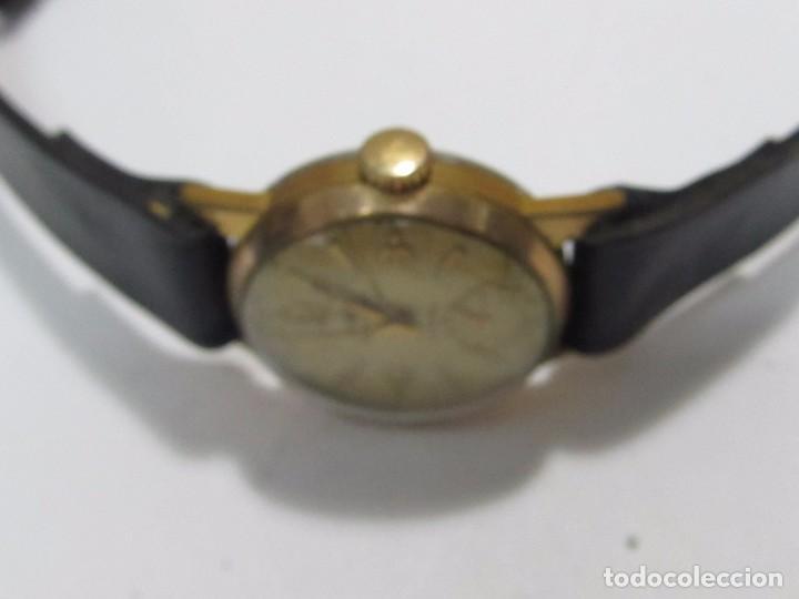 Vintage: RELOJ VINTAGE TORMAS DE CARGA MANUAL 15 RUBIS - EN FUNCIONAMIENTO - Foto 2 - 177455878