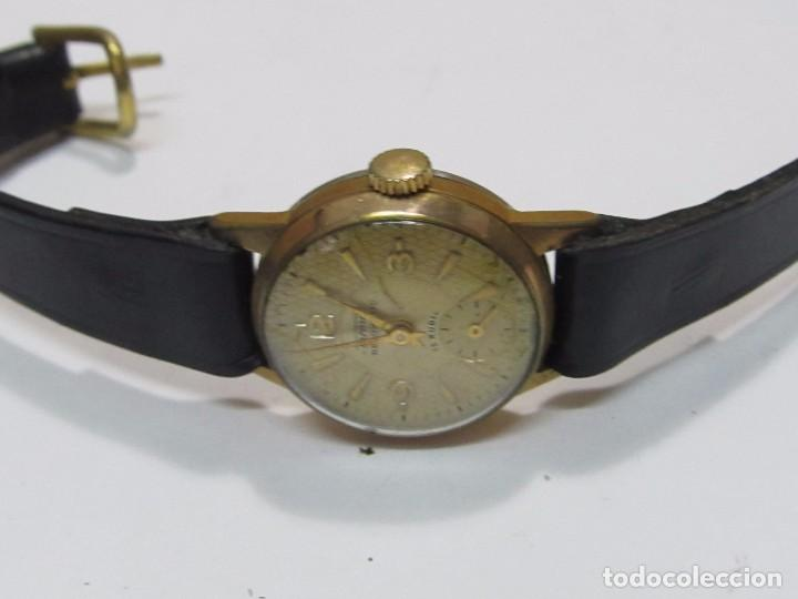 Vintage: RELOJ VINTAGE TORMAS DE CARGA MANUAL 15 RUBIS - EN FUNCIONAMIENTO - Foto 3 - 177455878