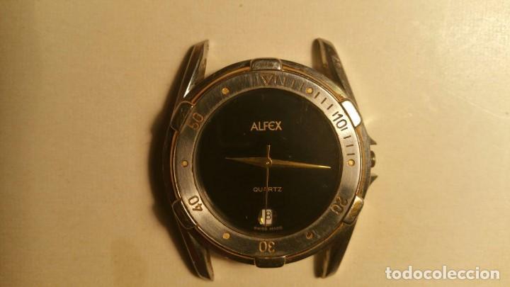 RELOJ SUIZO ALFEX QUARTZ (Relojes - Relojes Vintage )