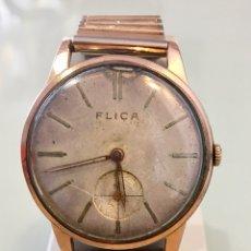 Vintage: RELOJ DE CUERDA FLICA ANTIGUO. Lote 131114535