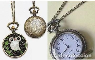 RELOJ COLGANTE BÚHO - VINTAGE RETRO (Relojes - Relojes Vintage )