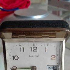 Vintage: ANTIGUO Y BONITO RELOJ SEIKO NO FUNCIONA PARA PIEZAS,REPARAR O DECORACION RETRO. Lote 133210942