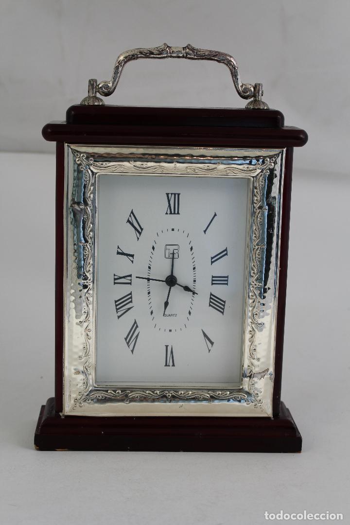 RELOJ QUARTZ EN PLATA DE LEY 925MILESIMAS (Relojes - Relojes Vintage )