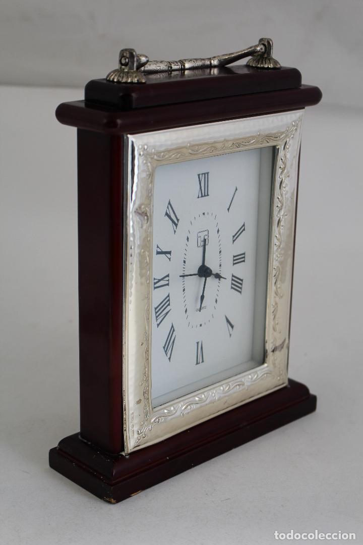 Vintage: reloj quartz en plata de ley 925milesimas - Foto 2 - 133688962