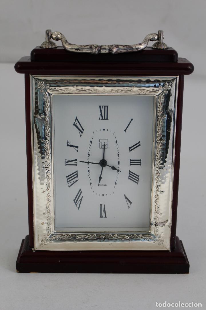 Vintage: reloj quartz en plata de ley 925milesimas - Foto 4 - 133688962