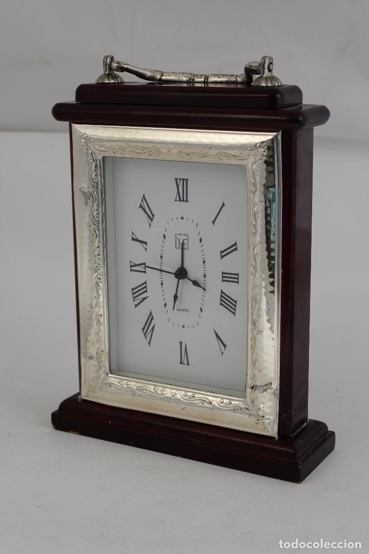 Vintage: reloj quartz en plata de ley 925milesimas - Foto 5 - 133688962