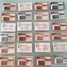 Vintage: LOTE 24 MANUALES DE RELOJES CASIO VINTAGE. Lote 134012603