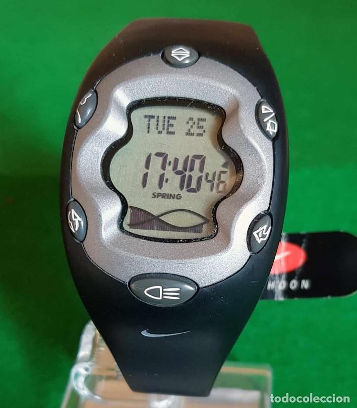 RELOJ NIKE TYPHOON WW001-001 CON FUNCIÓN DE MAREAS, CRONOGRAFO, NOS (NEW OLD STOCK) (Relojes - Relojes Vintage )