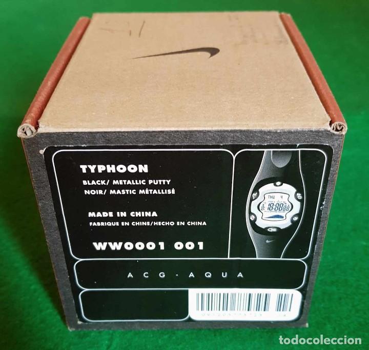 Vintage: RELOJ NIKE TYPHOON WW001-001 CON FUNCIÓN DE MAREAS, CRONOGRAFO, NOS (new old stock) - Foto 9 - 134312246
