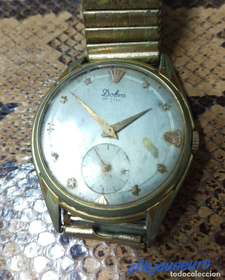RELOJ DOBRA DE LUXE, 15 JEWELS SWISS MADE ORIGINAL VER FOTOS (Relojes - Relojes Vintage )