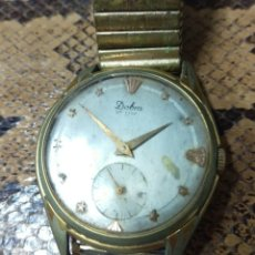 Vintage: RELOJ DOBRA DE LUXE, 15 JEWELS SWISS MADE ORIGINAL VER FOTOS. Lote 134503547