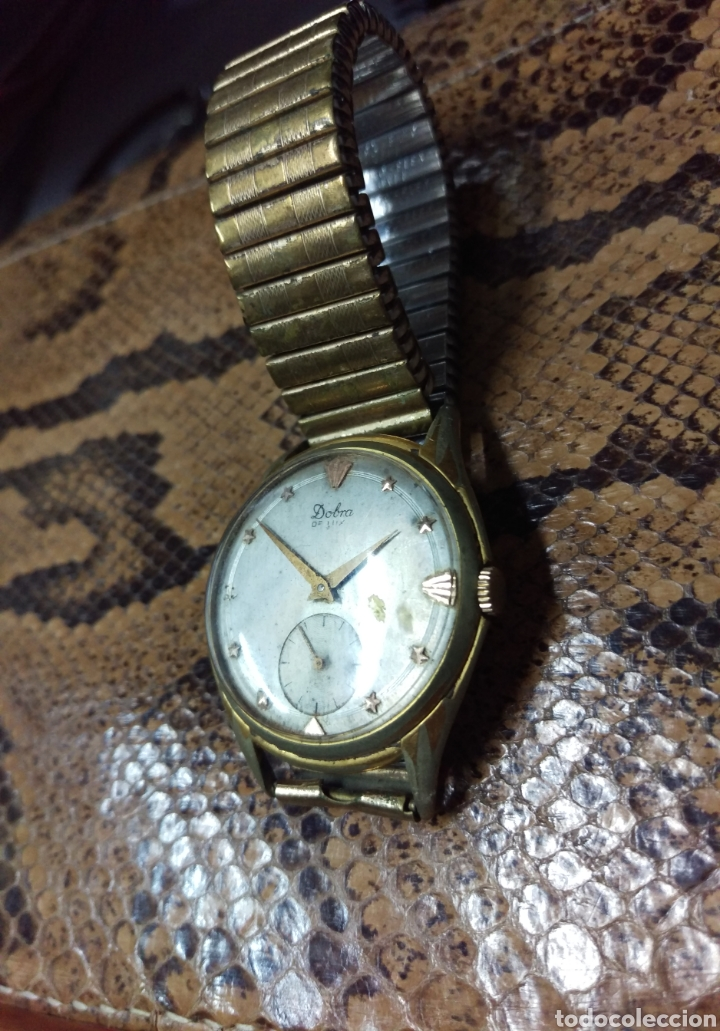 Vintage: RELOJ DOBRA DE LUXE, 15 JEWELS SWISS MADE ORIGINAL VER FOTOS - Foto 2 - 134503547