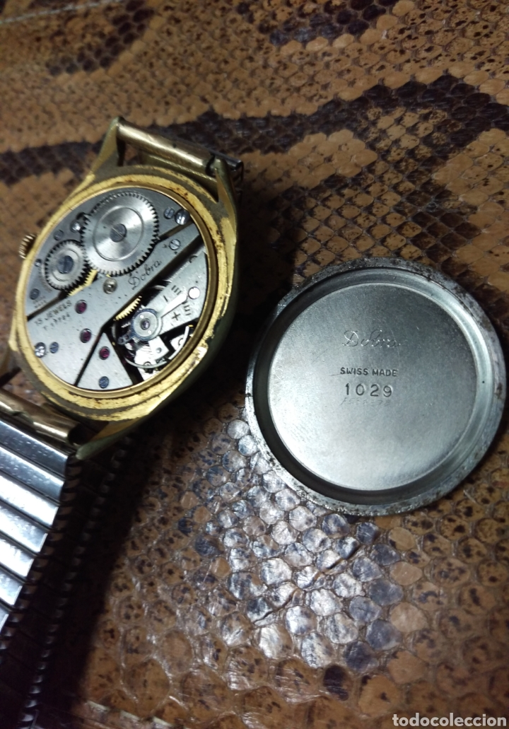 Vintage: RELOJ DOBRA DE LUXE, 15 JEWELS SWISS MADE ORIGINAL VER FOTOS - Foto 5 - 134503547