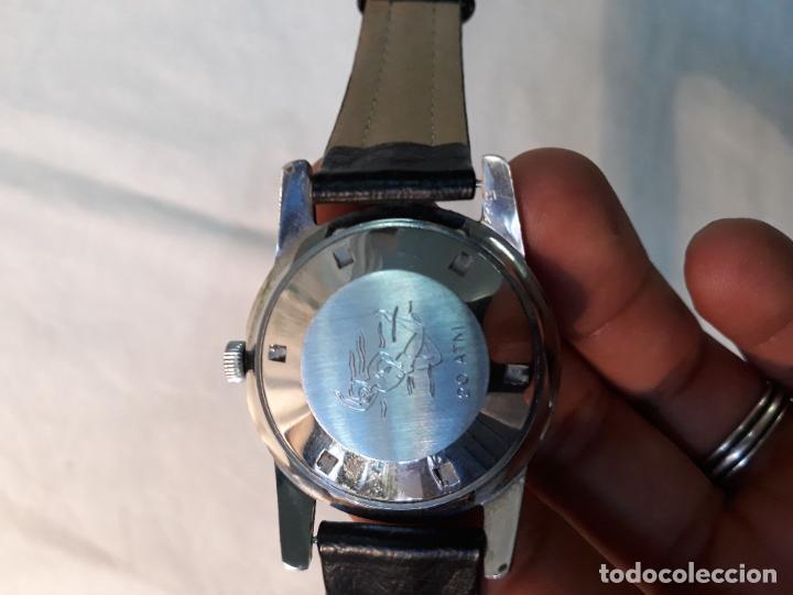 Vintage Watches: Monval 60s Vintage cincuenta brazas estilo Divers Watch Automático Acero. - Foto 3 - 134782346