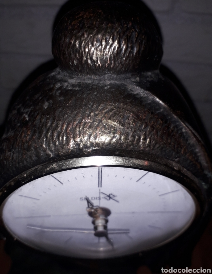 Vintage: Reloj pendulo Seldis Bronce - Foto 2 - 134803219