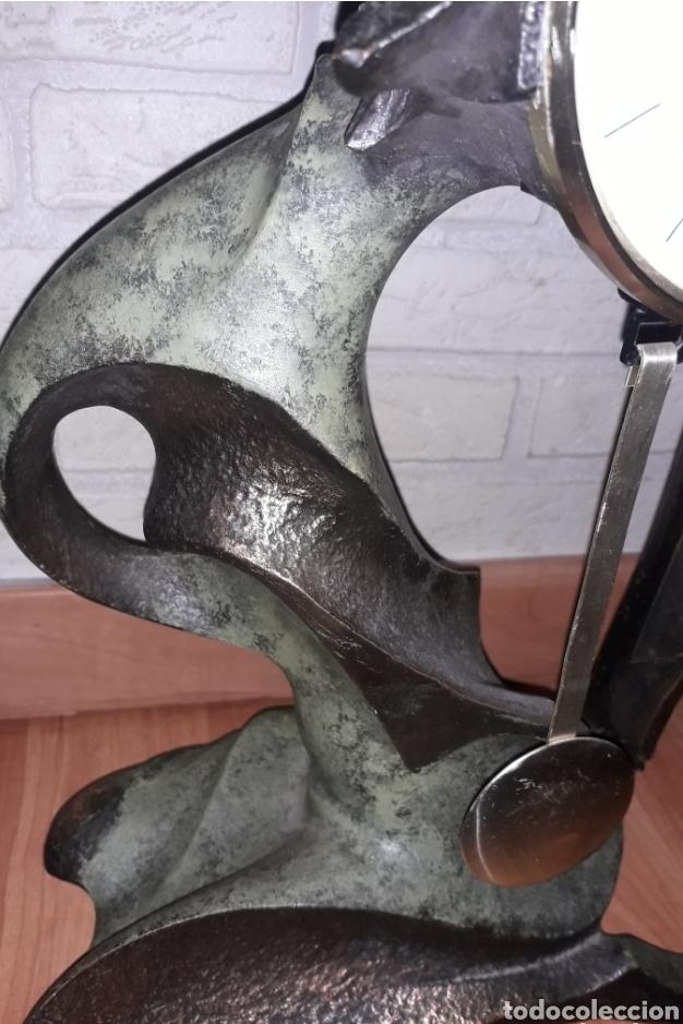 Vintage: Reloj pendulo Seldis Bronce - Foto 3 - 134803219