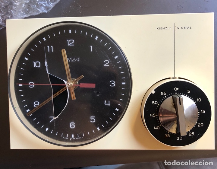RELOJ DESPERTADOR AÑOS 70 KIENZLE-SÍGNAL VINTAGE (Relojes - Relojes Vintage )