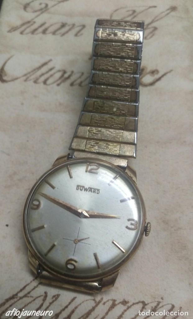 ANTIGUO RELOJ DUWARD 15 RUBIS CARGA MANUAL 35 MM. VER FOTOS (Relojes - Relojes Vintage )