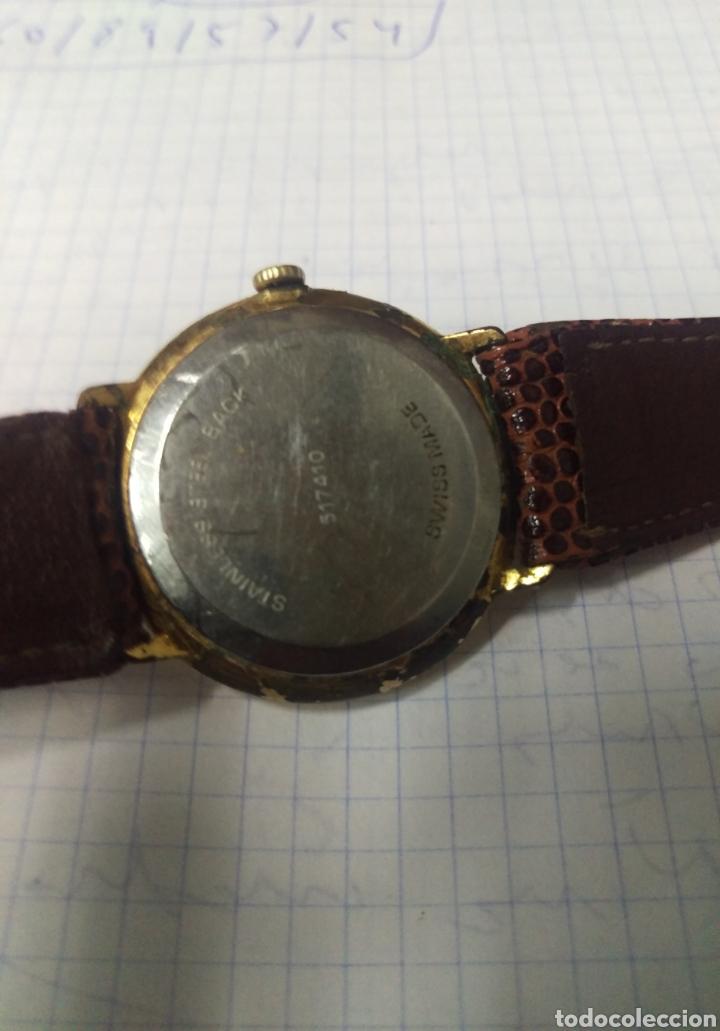 Vintage: ANTIGUO RELOJ VANROY CARGA MANUAL 34 MM. VER FOTOS - Foto 4 - 136350960
