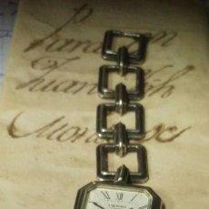 Vintage: ANTIGUO RELOJ DE PLATA VERNI 17 RUBIS CARGA MANUAL 27 MM. VER FOTOS. Lote 136357170