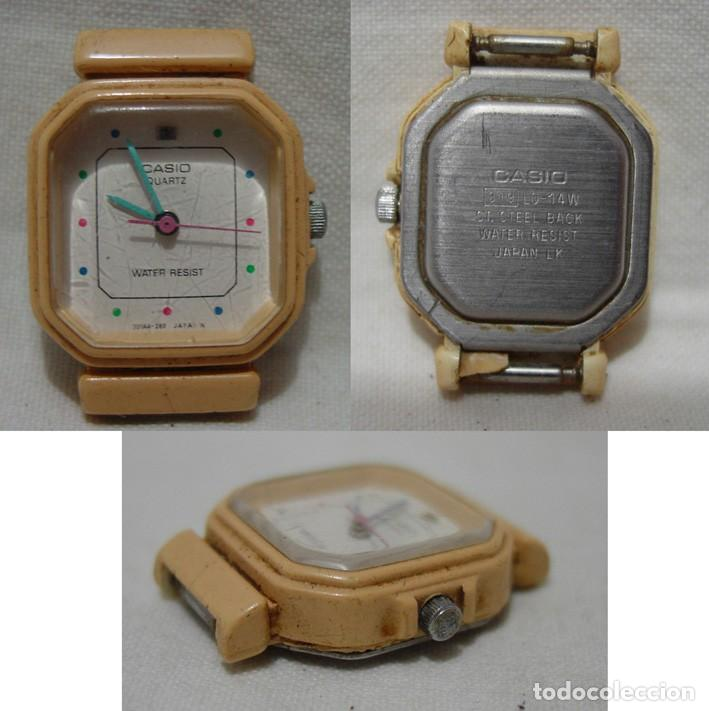 Vintage: LOTE 10 RELOJES A PILA-THERMIDOR-DUWARD-REMEX- LACHAUME-Q Q-KORYTRON-CASIO-SEIKO-ARGOM- - Foto 7 - 136856830