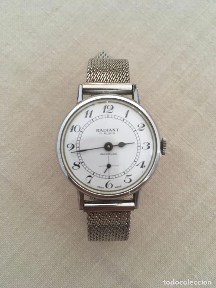 RELOJ SEÑORA RADIANT CARGA MANUAL (Relojes - Relojes Vintage )