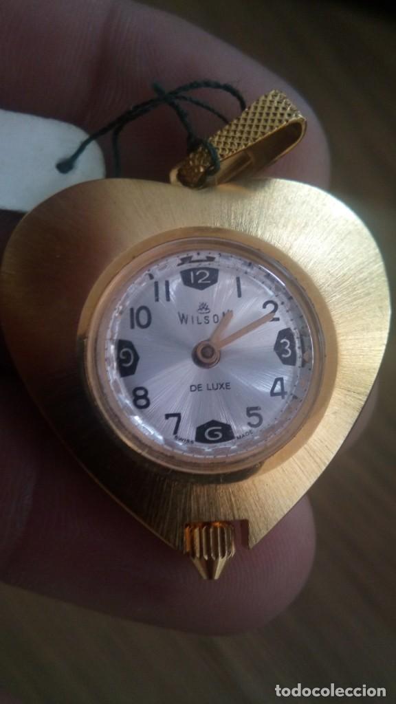 RELOJ COLGANTE WILSON (Relojes - Relojes Vintage )