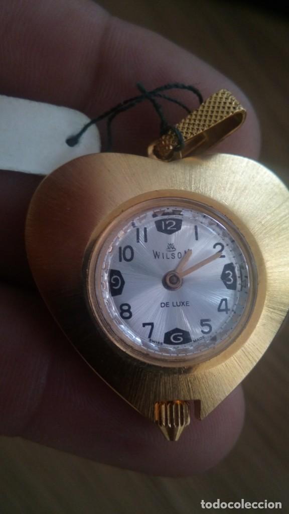 Vintage: reloj colgante wilson - Foto 3 - 137501610