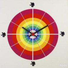 Vintage: RELOJ DE PARED VALENTINE RETRO SPACE AGE VINTAGE AÑOS 70. Lote 138112054