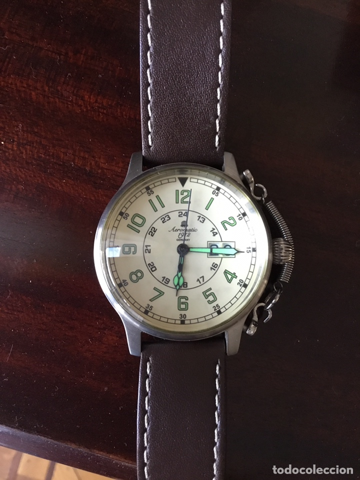 AEROMATIC 1912 GERMANY. RELOJ DE PULSERA VINTAGE. (Relojes - Relojes Vintage )