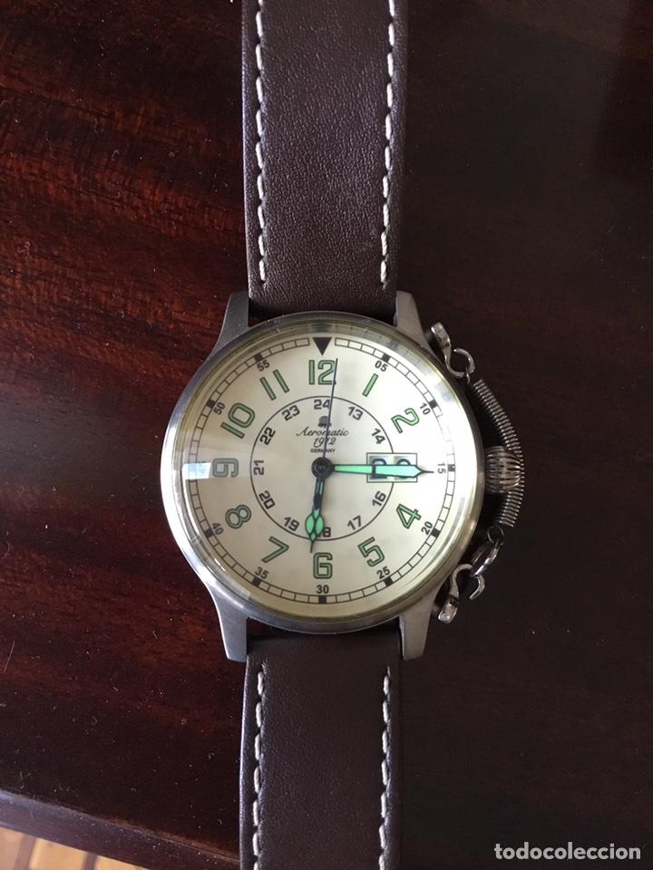 Vintage: AEROMATIC 1912 Germany. Reloj de pulsera Vintage. - Foto 2 - 138897164