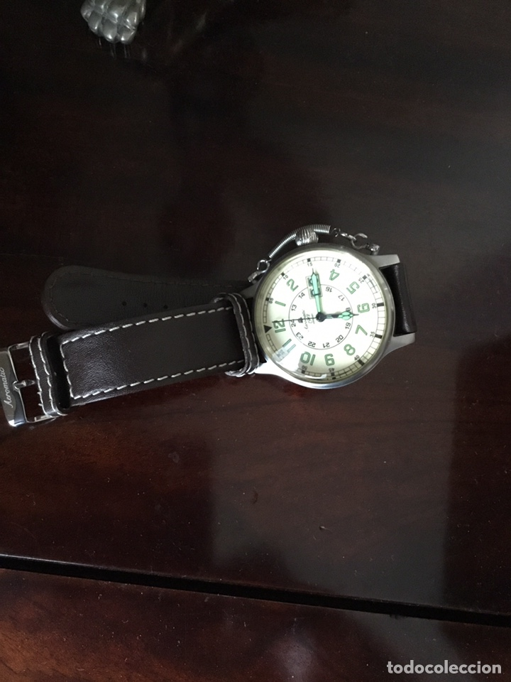 Vintage: AEROMATIC 1912 Germany. Reloj de pulsera Vintage. - Foto 3 - 138897164