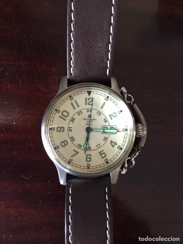Vintage: AEROMATIC 1912 Germany. Reloj de pulsera Vintage. - Foto 7 - 138897164