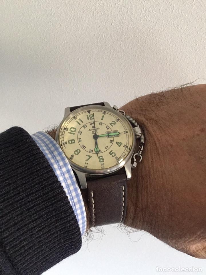 Vintage: AEROMATIC 1912 Germany. Reloj de pulsera Vintage. - Foto 9 - 138897164