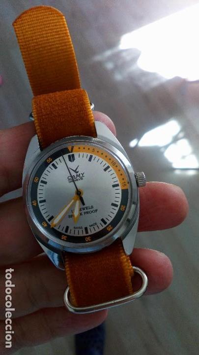 RELOJ VINTAGE SUIZO CAMY DEPORTIVO CUERDA . SALIDA 9,99 EUROS. . (Relojes - Relojes Vintage )