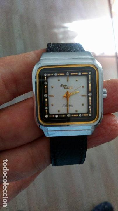 RELOJ VINTAGE SUIZO SUPER TITUS CUERDA . SALIDA 9,99 EUROS. . (Relojes - Relojes Vintage )
