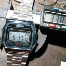 Vintage: RELOJ LCD TODAS FUNCIONES SKIMEI, REPLICA VINTAGE. Lote 139247628