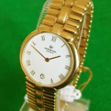 Vintage: RELOJ RAYMOND WEIL GENEVE 9154, ELECTROPATED 18K, NOS (NEW OLD STOCK) VINTAGE. Lote 140299270
