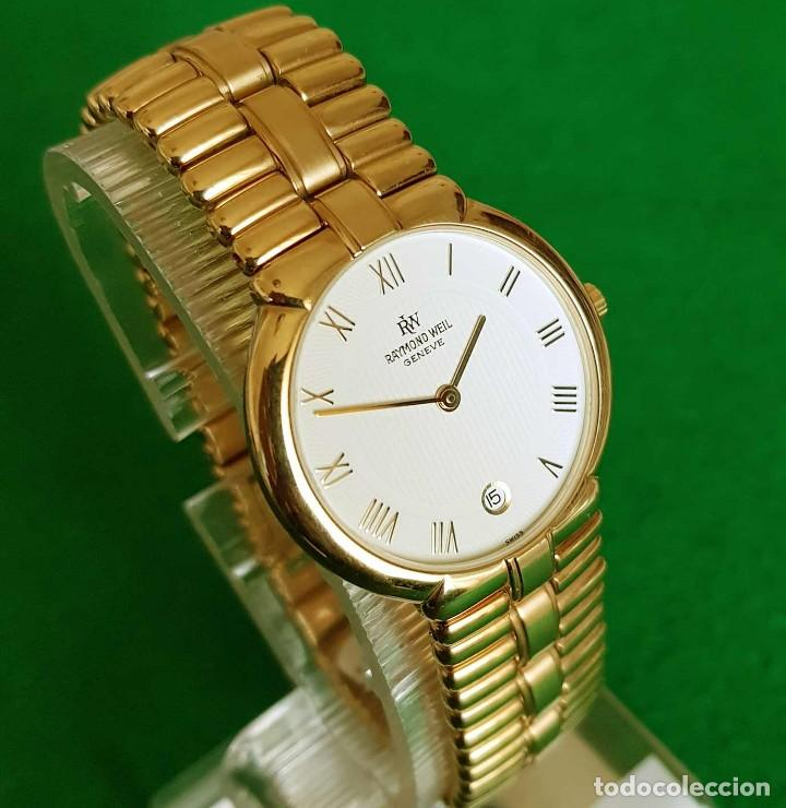 Vintage: Reloj RAYMOND WEIL Geneve 9154, Electropated 18K, NOS (new old stock) Vintage - Foto 2 - 140299270