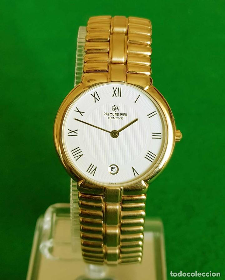 Vintage: Reloj RAYMOND WEIL Geneve 9154, Electropated 18K, NOS (new old stock) Vintage - Foto 3 - 140299270