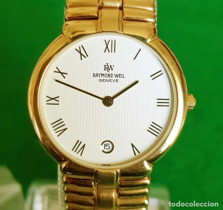 Vintage: Reloj RAYMOND WEIL Geneve 9154, Electropated 18K, NOS (new old stock) Vintage - Foto 4 - 140299270
