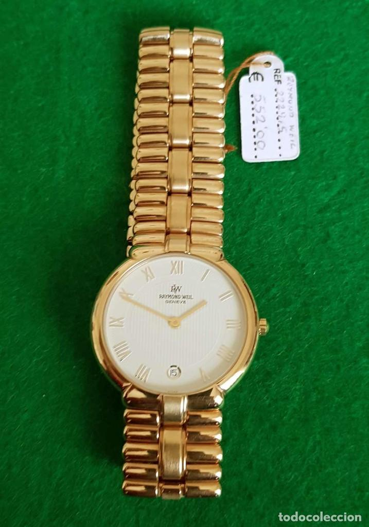 Vintage: Reloj RAYMOND WEIL Geneve 9154, Electropated 18K, NOS (new old stock) Vintage - Foto 7 - 140299270