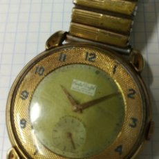 Vintage: ANTIGUO RELOJ CRISTAL WATCH 15 RUBIS CARGA MANUAL 40 MM. VER FOTOS. Lote 140917388