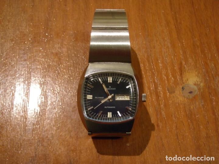 RELOJ AUTOMATICO RADIANT BLUMAR FUNCIONANDO (Relojes - Relojes Vintage )