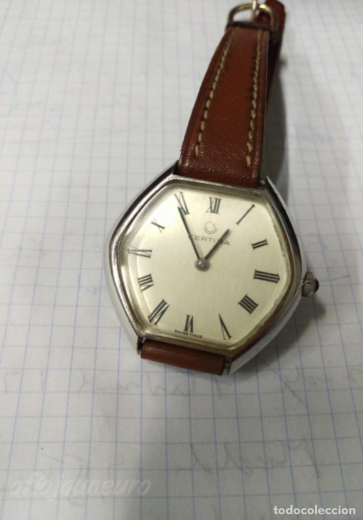 RELOJ CERTINA ORIGINAL A CUERDA VER FOTOS (Relojes - Relojes Vintage )