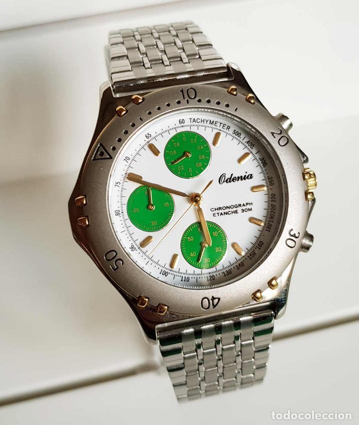 RELOJ ODENIA ,CRONOGRAFO, VINTAGE , NOS (NEW OLD STOCK) (Relojes - Relojes Vintage )