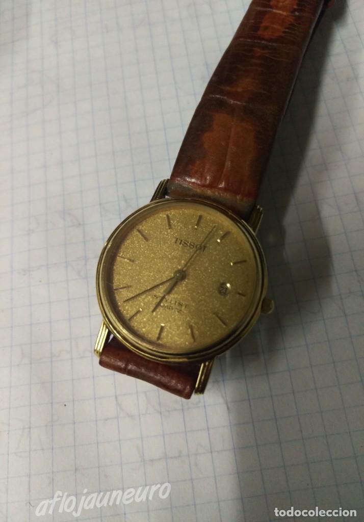RELOJ TISSOT STYLIST QUARTZ ORIGINAL VER FOTOS (Relojes - Relojes Vintage )