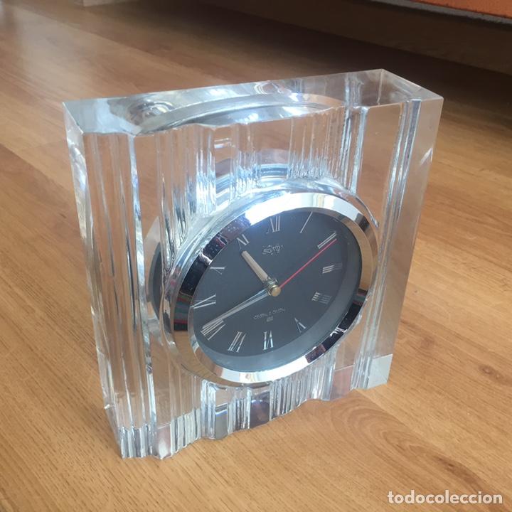 Sobremesa En Tallado Crystal JapónDe Hoya Cristal Reloj 8mw0OvNn